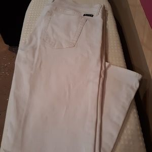 LUCKY Brand Jean's, white size 8